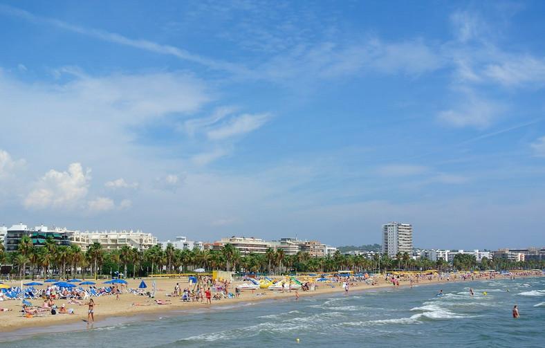пляж салоу