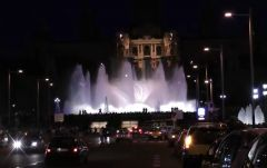 поющие фонтаны в барселоне (2)