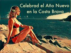 Новогодние открытки с Коста Брава - вторая картинка