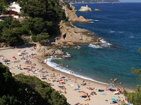 Пляж бланеса фото #9