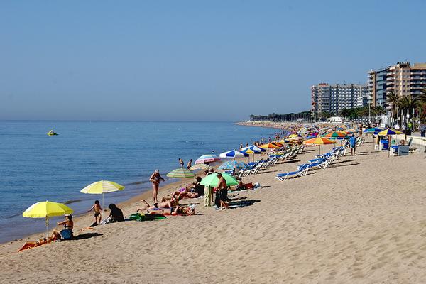 Пляж бланеса фото #1
