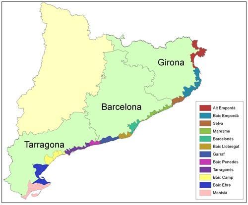пляжи на карте испании...jpg