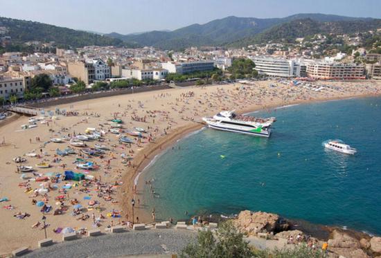 Пляжи города Тосса де Мар.jpg