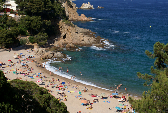 Пляжи города Бланеса.jpg