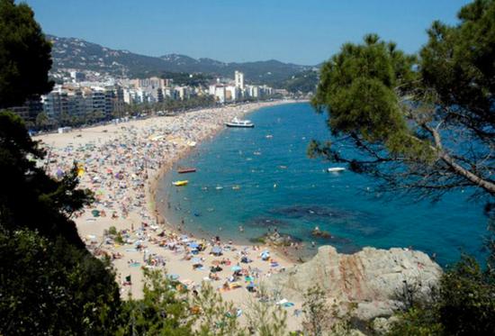 Пляжи города Ллорет де Мар.jpg