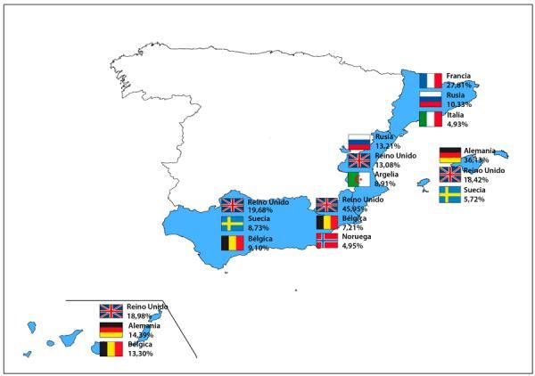 Покупка недвижимости иностранцами в Испании, инфографика, 2014 год. Источник -fotocasa.es ...jpg