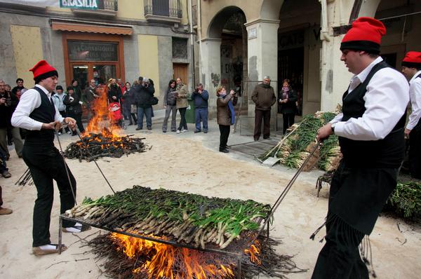 праздники в испании,  calcotada.jpg
