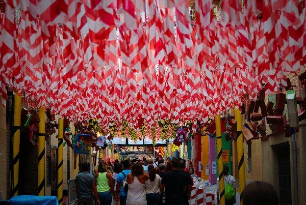 фестиваль в барселоне, Festa Major de Gracia.jpg