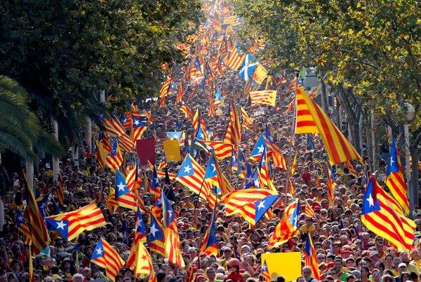 праздники в каталонии, Diada de l'Onze de Setembre.jpg