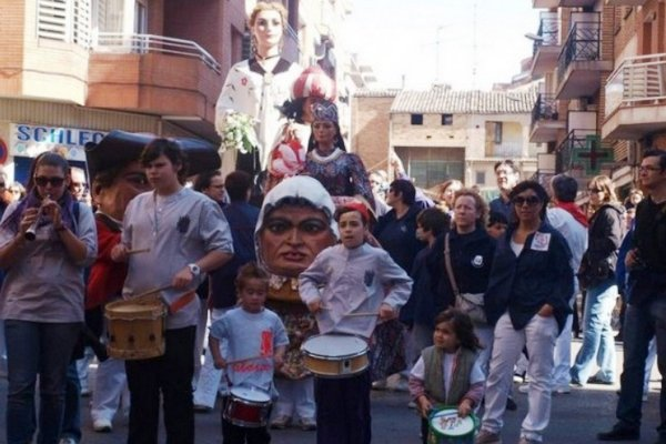 праздники в каталонии, Festa Major del Poblenou.jpg