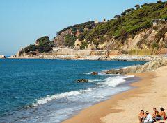 пляж каталонии ..