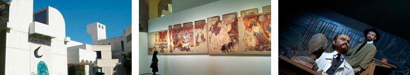 музеи барселоны, Музей Жоана. Миро Музей Пикассо. Музей восковых фигур.jpg