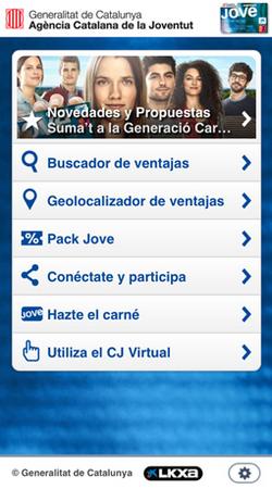 мобильные приложения, Carnet Jove.jpg