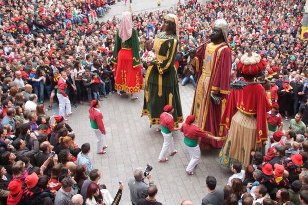 праздники в испании, Patum Berga.jpg