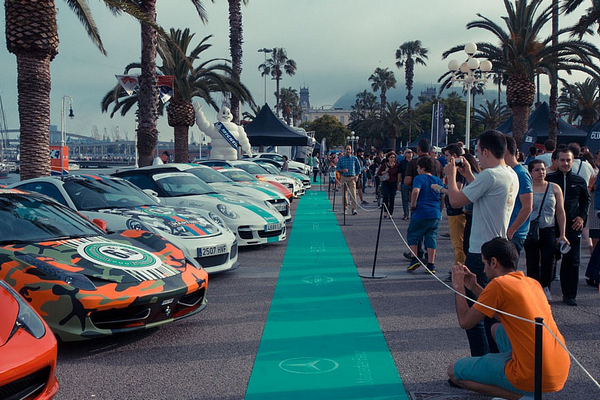 шоу в испании, Barcelona Motor days.jpg