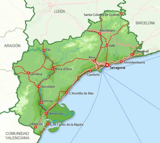 San Carlos de la Rapita карта.jpg
