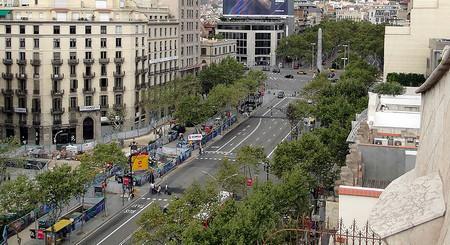 Passeig de Gracia Metro Catalunya, Passeig de Gracia, Diagonal.jpg