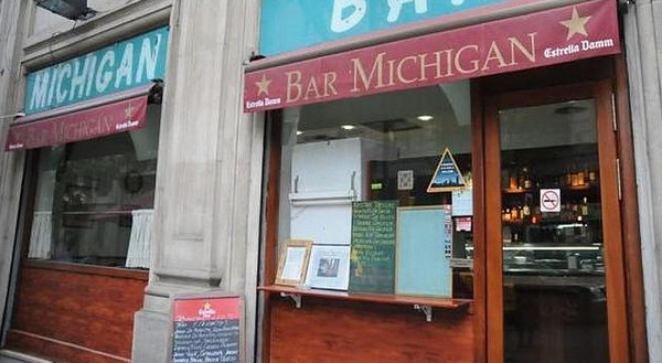рестораны барселоны. Bar Michigan.jpg