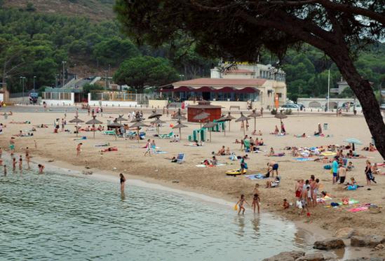 Жирона пляжи