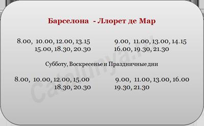 расписание автобусов, барселона   ллорет де мар.png
