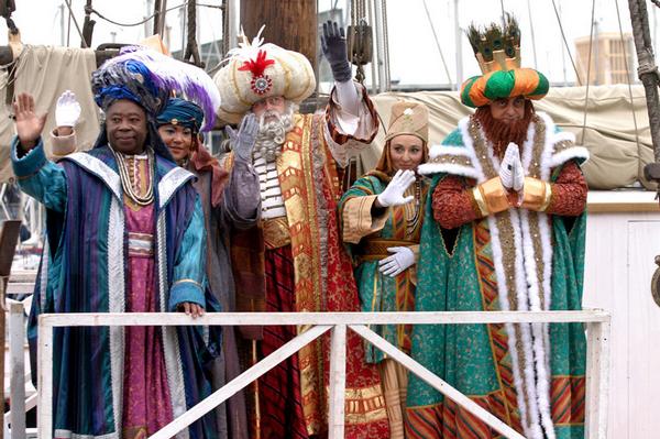 праздники в испании,  Трех королей.jpg